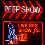 amsterdam red light district peep show