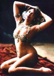 mata hari exotic spy dancer