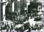 funerall mass rudolph valentino