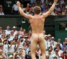 Streaking Wimbledon 2006 Try before you die!